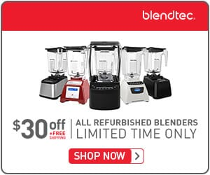 Blendtec Blenders are one of my personal favorites and make fantastic gifts for friends or loved ones!